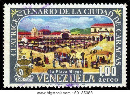 Main Square Of Caracas