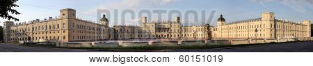 Panorama Of Gatchina Palace, Russia