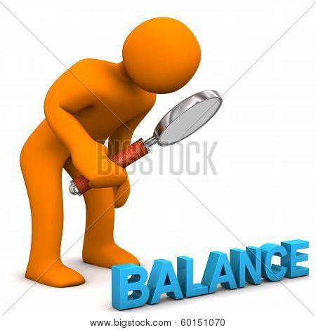 3D Figure Loupe Balance