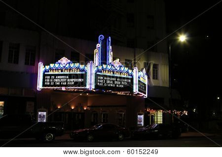 BEVERLY HILLS - FEB 16: Saban Theater where Engelbert Humperdinck performs in concert at the Saban Theater on February 16, 2014 in Beverly Hills, California