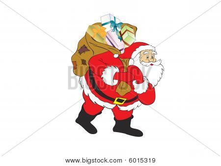 figure of Santa Claus
