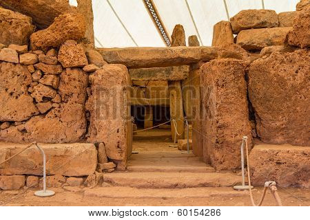 Mnajdra Temple Entrance
