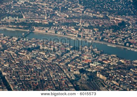 Aerial Shot Of Budapest