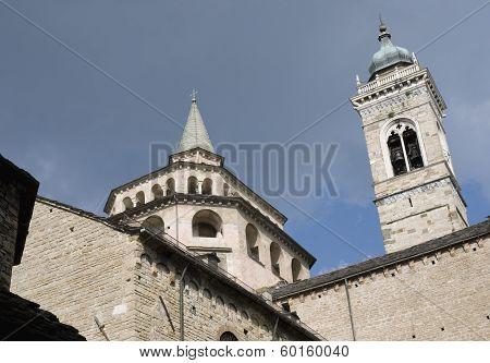 basilica of St Maria Maggiore Bergamo  Italy