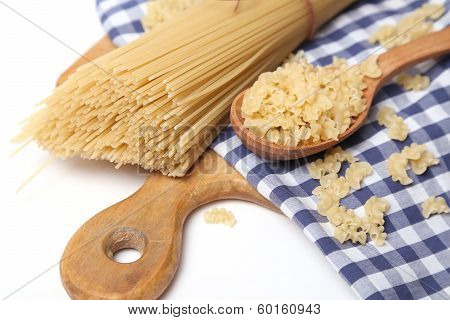 Spaghetti On Textile