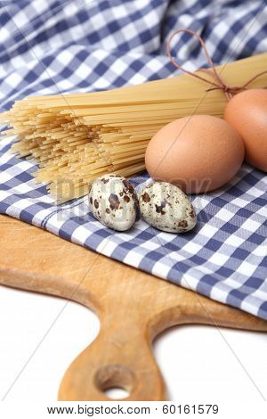 Spaghetti With Eggs