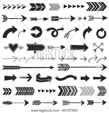 Hand Drawn Graphic Arrows
