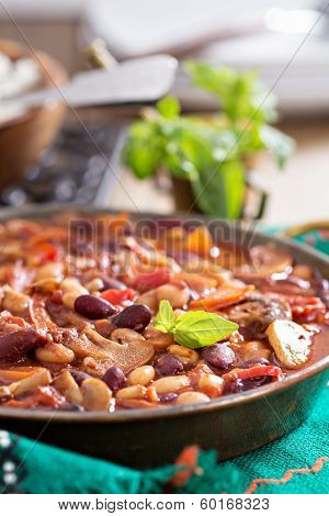 Vegan bean chili
