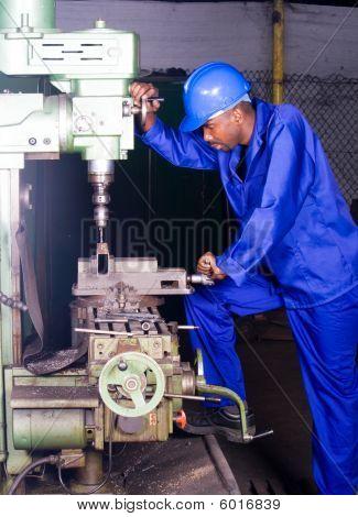 drilling machine operator
