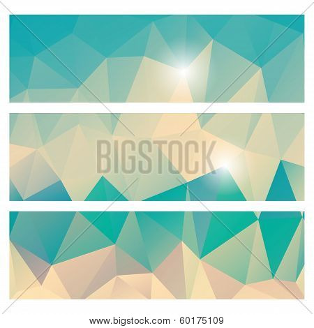 Abstract geometric colorful background, banners, pattern design, vector illustration