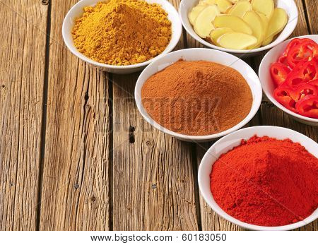 mix of spices served in bowl