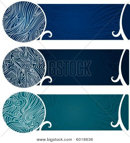 Water Swirl Banners Too