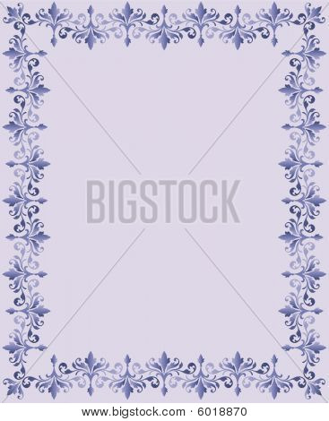 Easter Repeating Floral Border