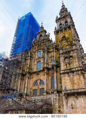 Santiago Cathedral Facade