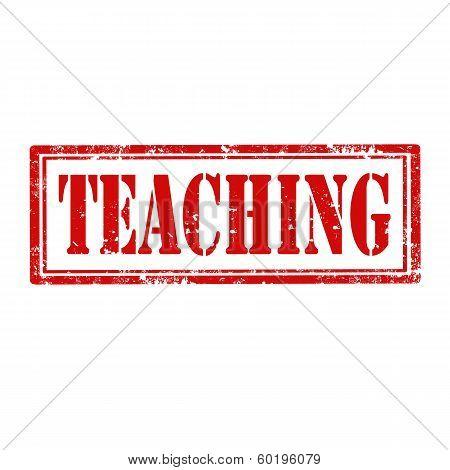 Teaching-stamp
