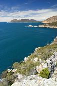 Cape Tourville lookout, Freycinet National Park, Tasmania, Australia