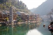 Fenghuang (Phoenix) ancient town Hunan province, China