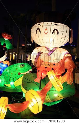 Chinese lanterns for new year carnival