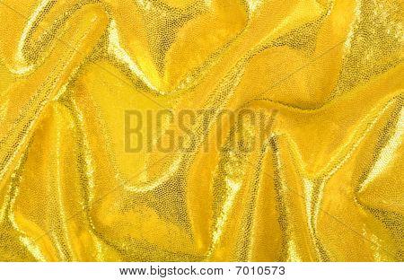 Yellow Spandex Folds