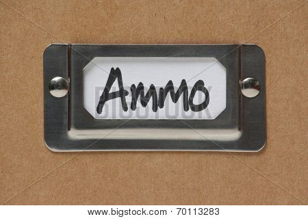 Ammo Box Label