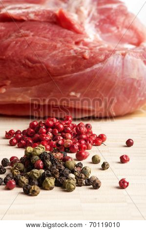 Chop Meat And Papper