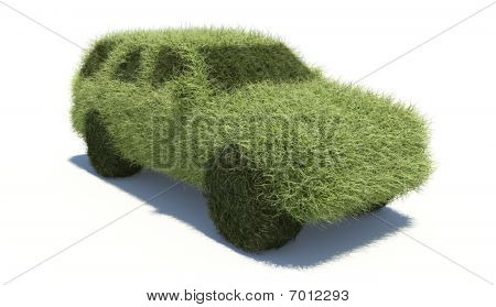 Green Concept Car. Clean Fuel.