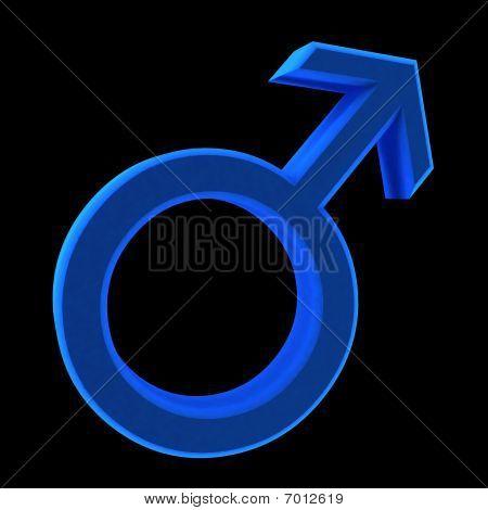Blue Man Symbol