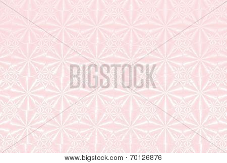 Background With Holographic Pattern Light Pink