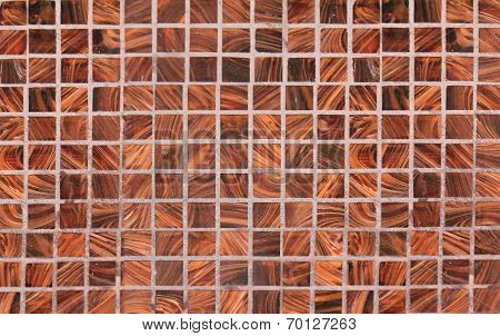 Squared Background Of Wooden Checks, Inlaid Work