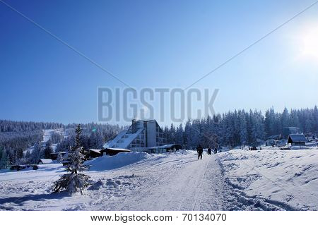 At foot of the Keilberg (Klinovec)
