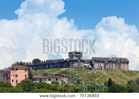 Fortress On The Hill Of Sarzanello