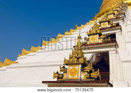 Maharzayde Pagoda. Bago. Myanmar.