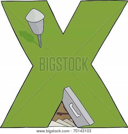 Isolated X Bomb Shelter