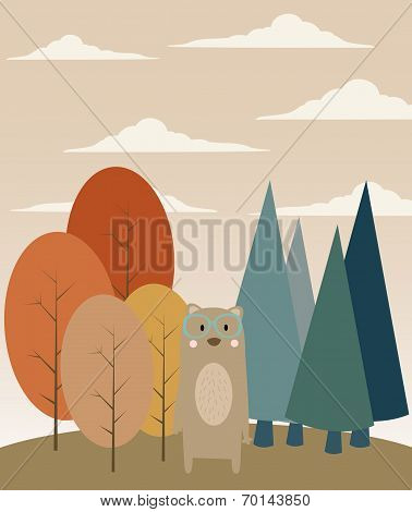 Bear In The Forest