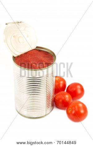 Tomato Sauce With The Cherry Tomatoes