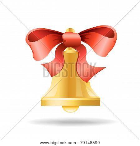 ribbon and bell