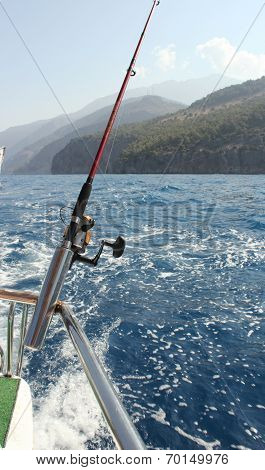 A fishing trip in Turkey