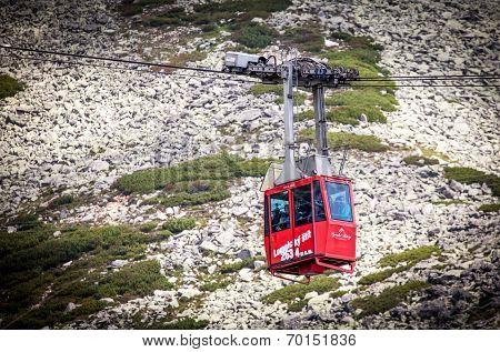 Ropeway At High Tatras, Slovakia