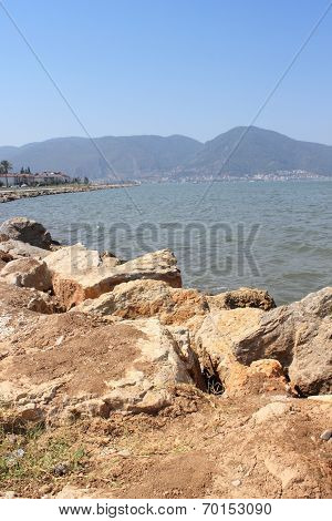 Mountain views of fethiye