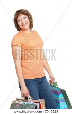 Woman Shoppping
