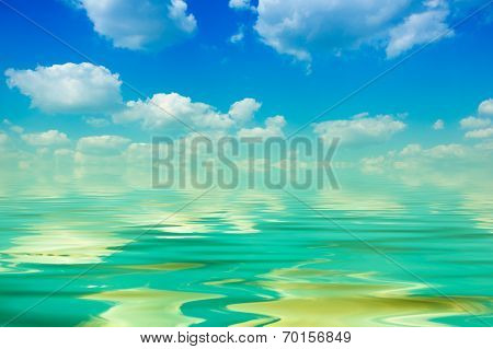 Cloud And Water