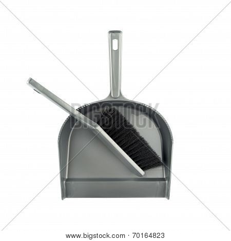Dustpan And Brush Floor Sweeper