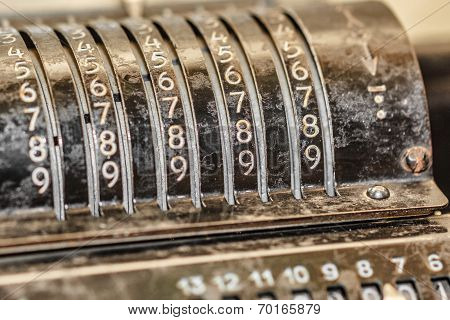 Retro Adding Machine