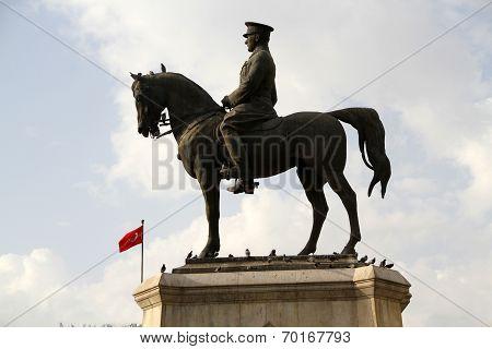 The Ataturk Statue