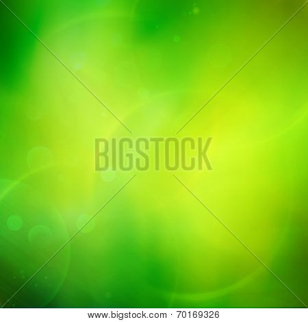 Background green bright abstract pattern