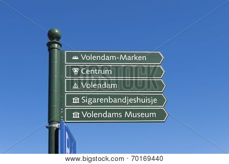 Green Signpost