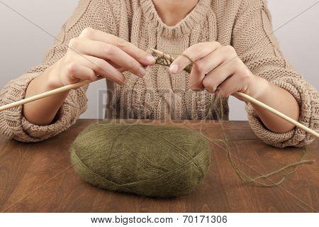 Process Of Knitting