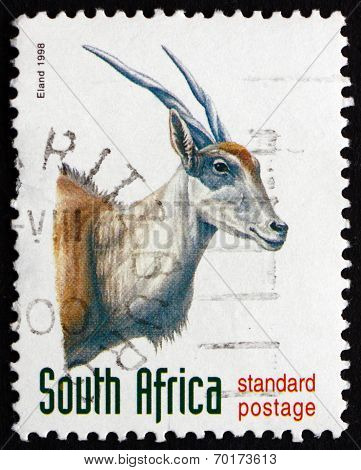 Postage Stamp South Africa 1998 Eland, Antelope
