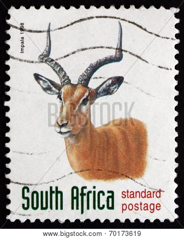 Postage Stamp South Africa 1998 Impala, Antelope