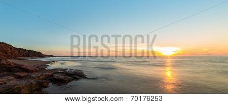 Panorama Of Ocean Beach